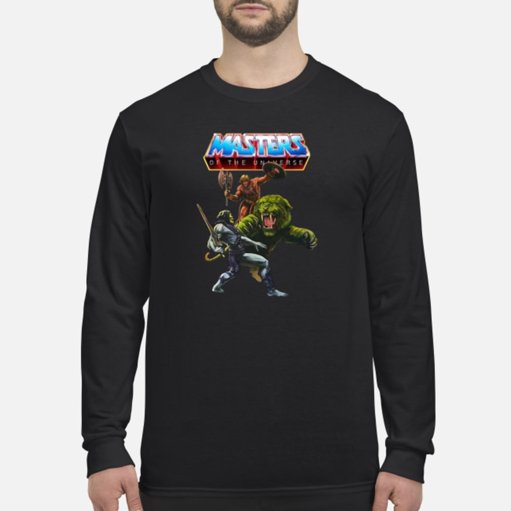 Masters of the unaverse shirt Long sleeved