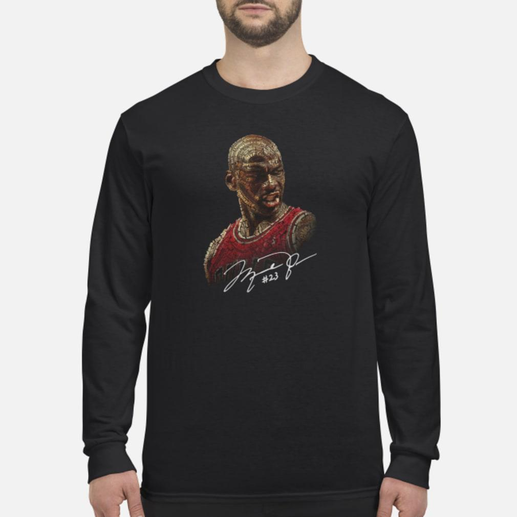Michael Jordan signature shirt Long sleeved