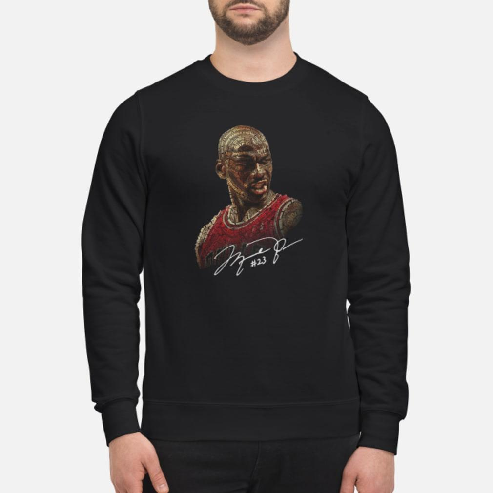 Michael Jordan signature shirt sweater