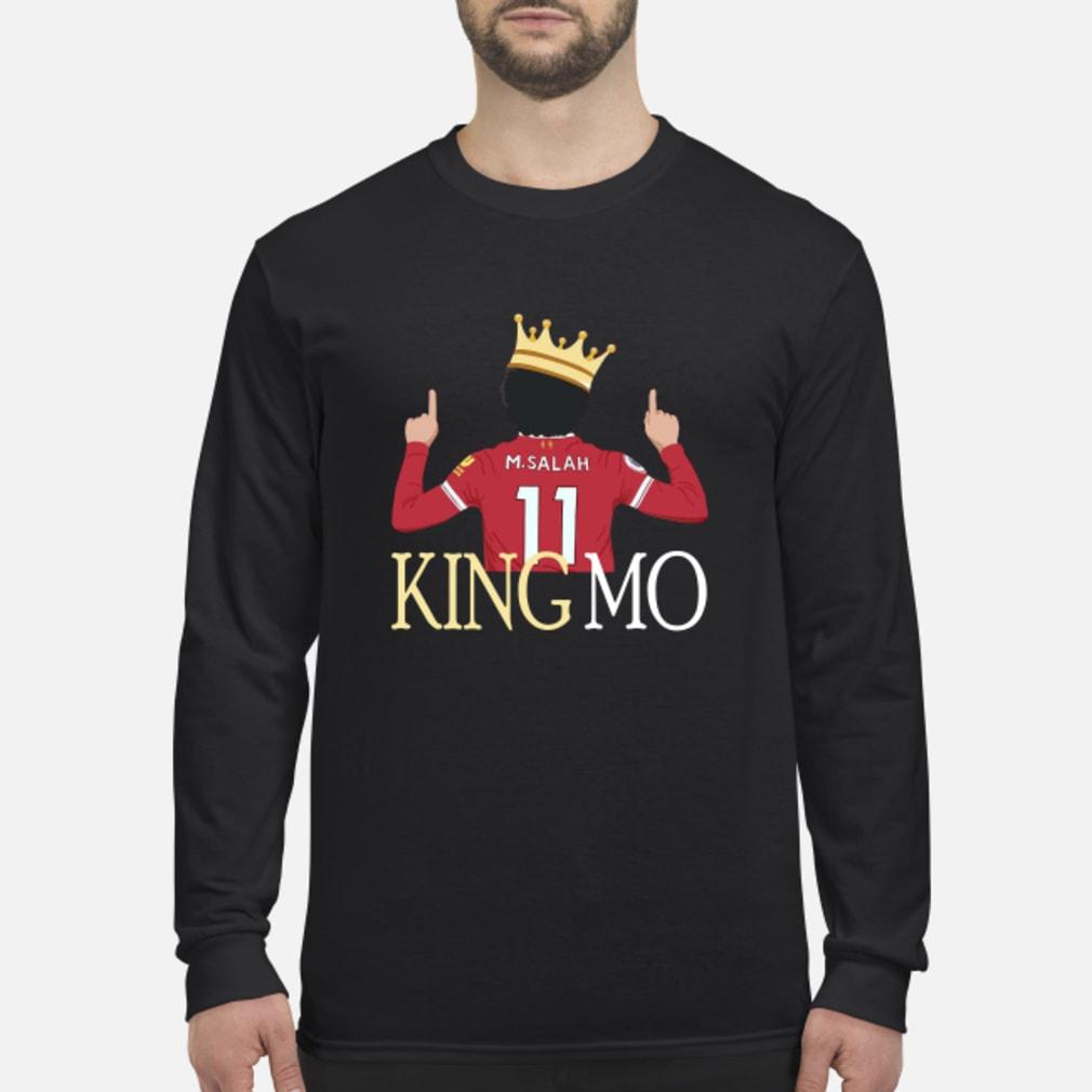 Mohamed Salah Liverpool King MO Shirt Long sleeved