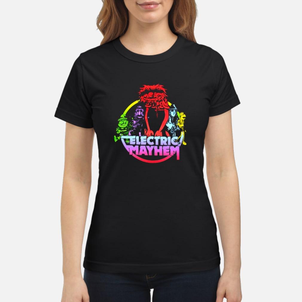 Muppets Electric mayhem shirt ladies tee