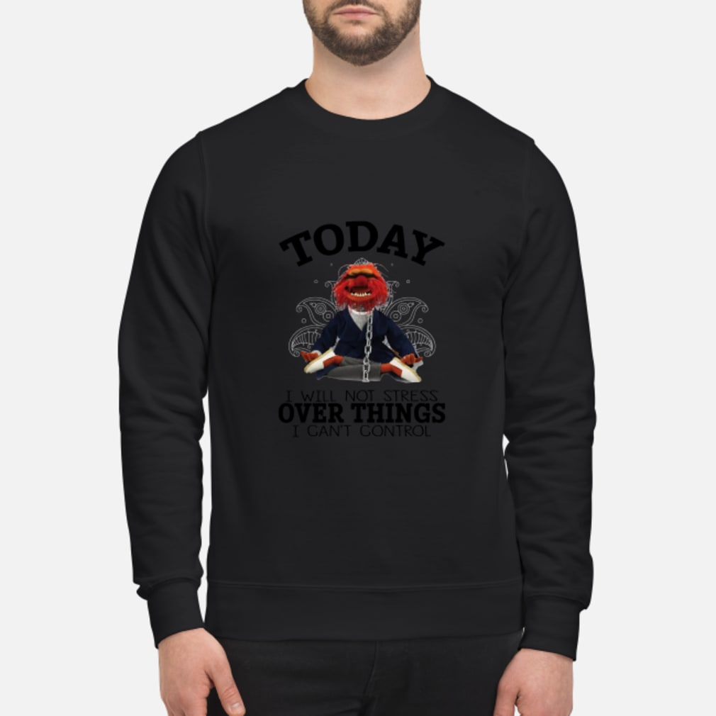 Muppets Yoga To day I will Not Stress Over things I cant Control shirt sweater
