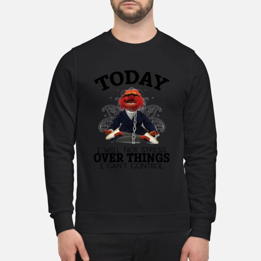 Muppets Yoga To day I will Not Stress Over things shirt sweater