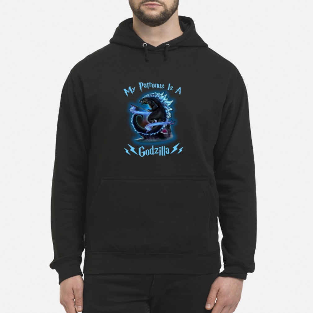 My Patronus Is A Godzilla shirt hoodie