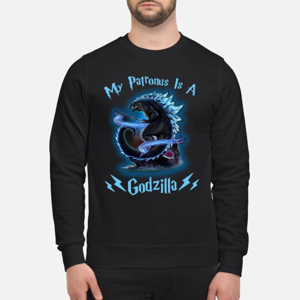 My Patronus Is A Godzilla shirt sweater