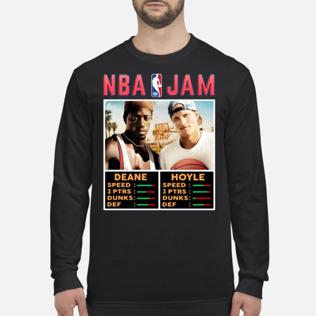 NBA Jam White Men Can't Jump Shirt long sleeved