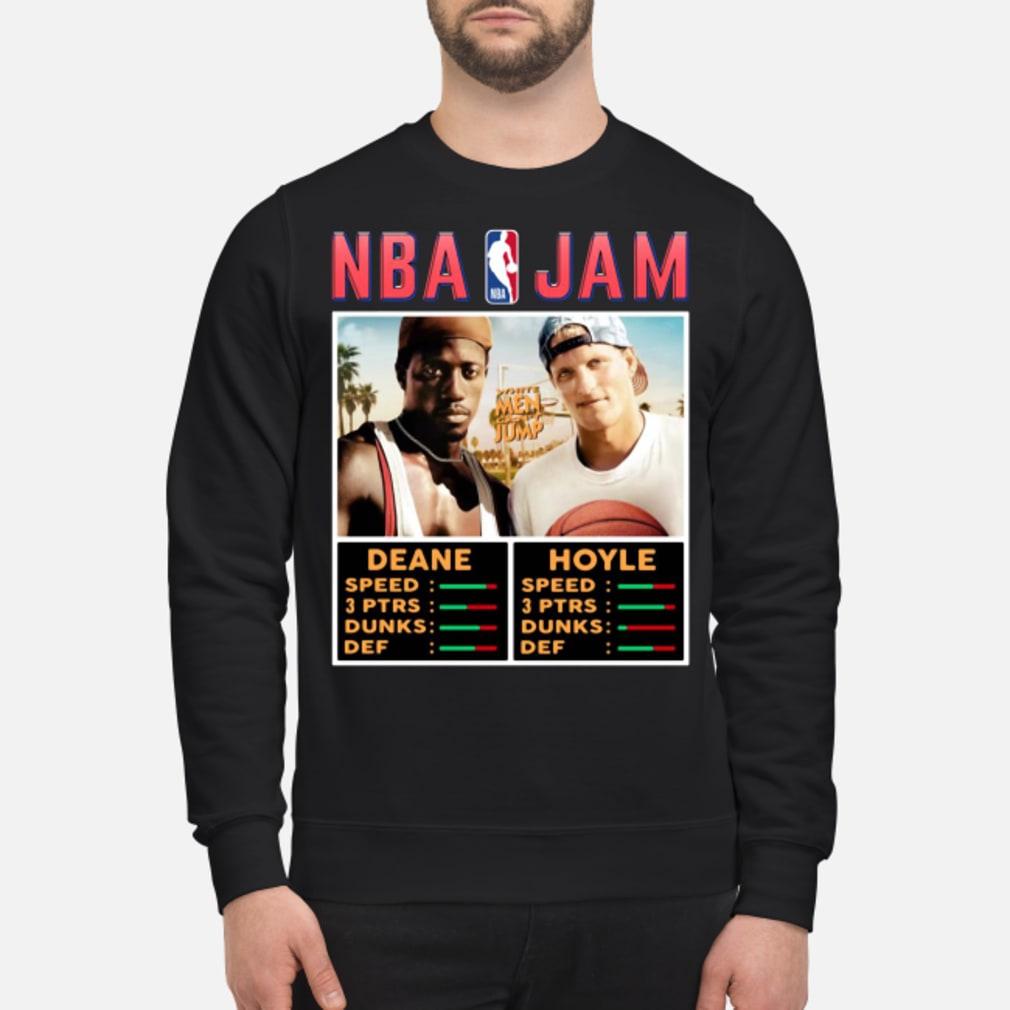 NBA Jam White Men Can't Jump Shirt sweater