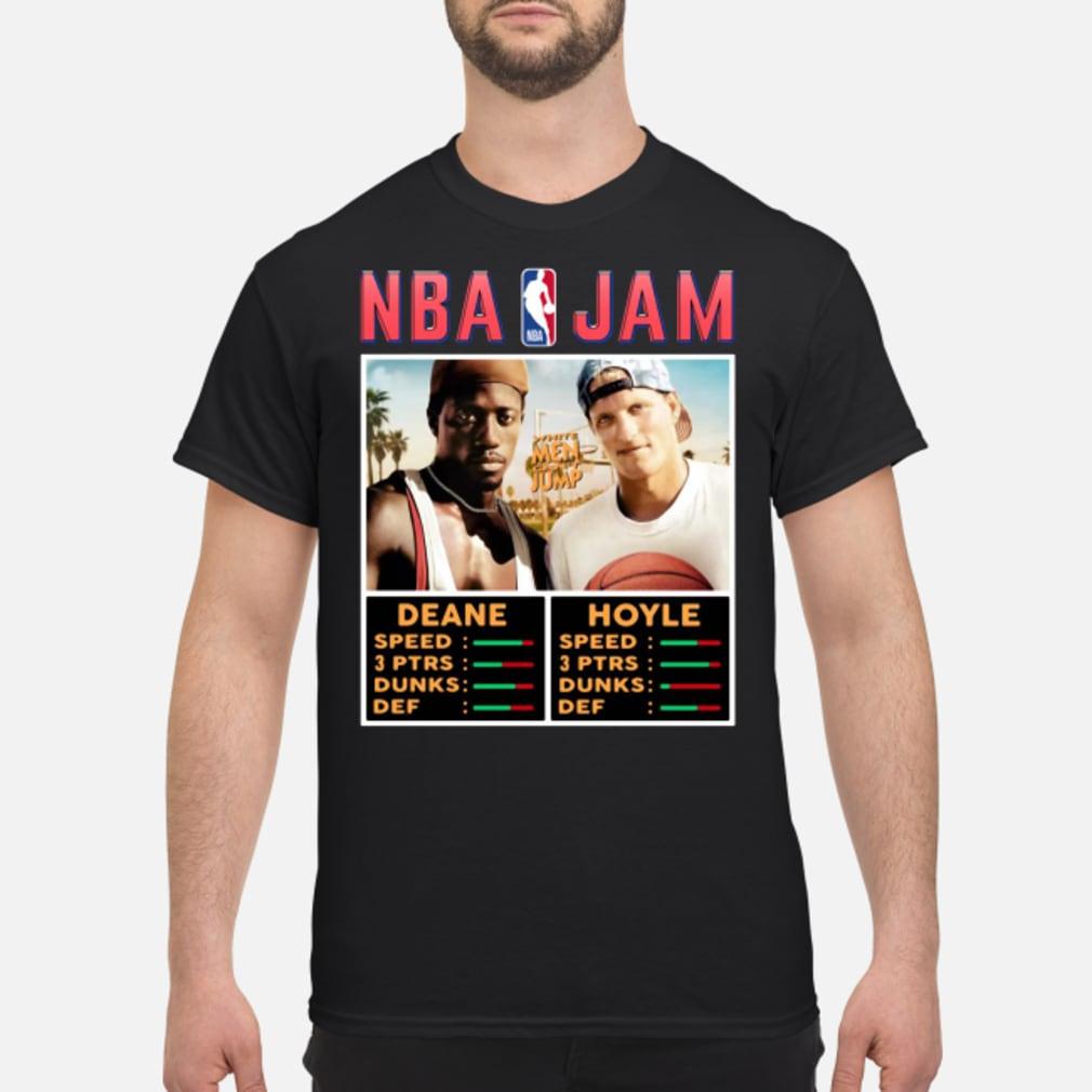 NBA Jam White Men Can't Jump Shirt