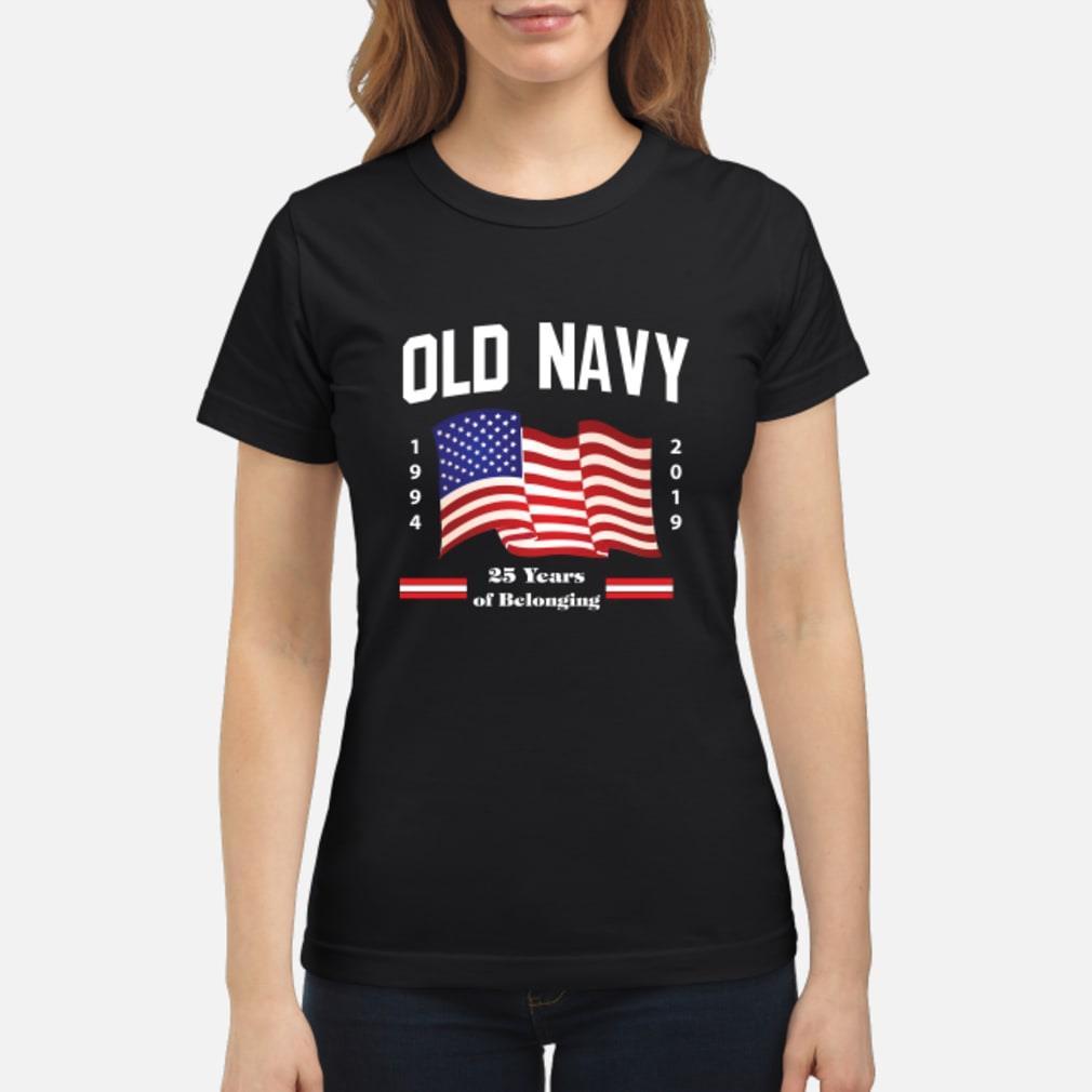 Old Navy Flag 2019 Shirt ladies tee