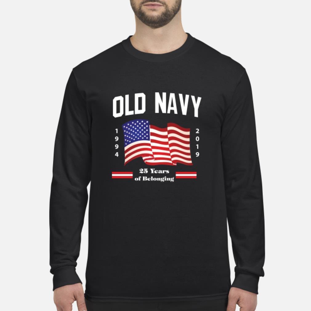 Old Navy Flag 2019 Shirt Long sleeved