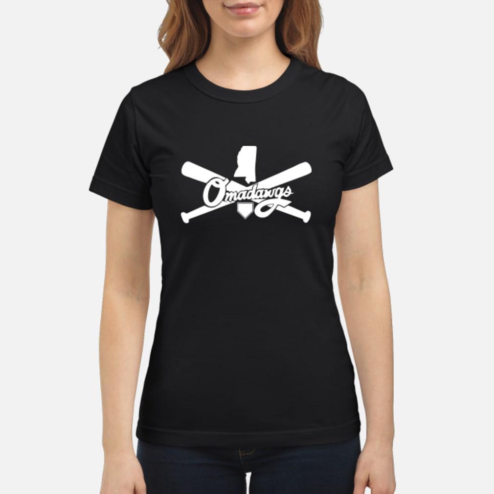 Omadawgs T-Shirt ladies tee