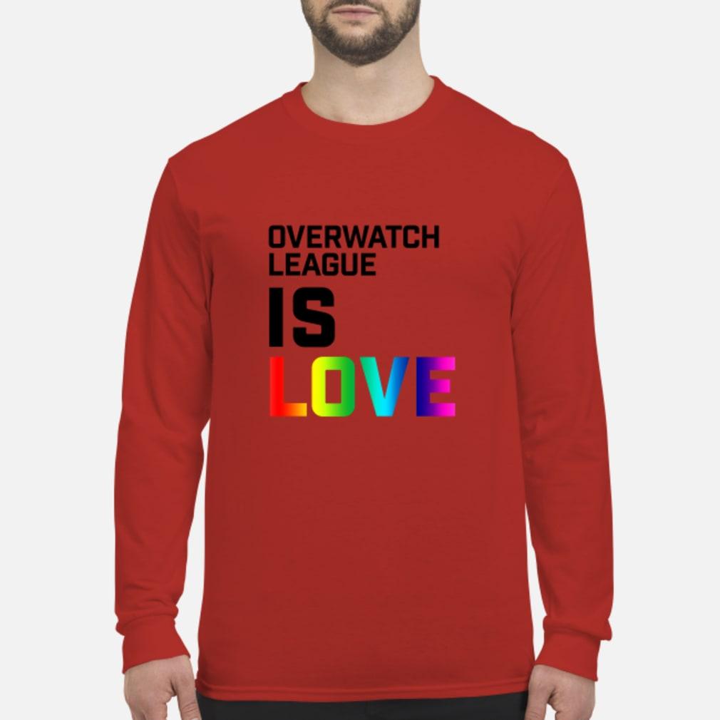 Overwatch League Is Love Shirt Long sleeved