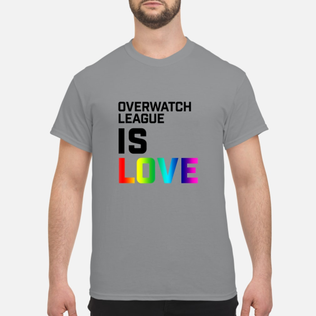 Overwatch League Is Love Shirt