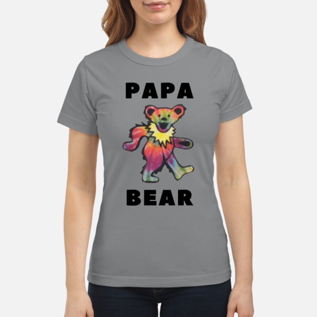 Papa Bear Shirt ladies tee