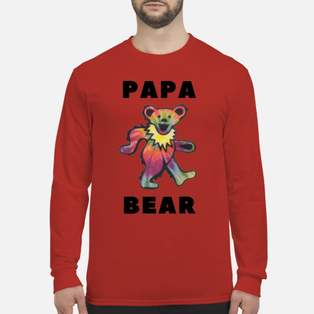 Papa Bear Shirt long sleeved