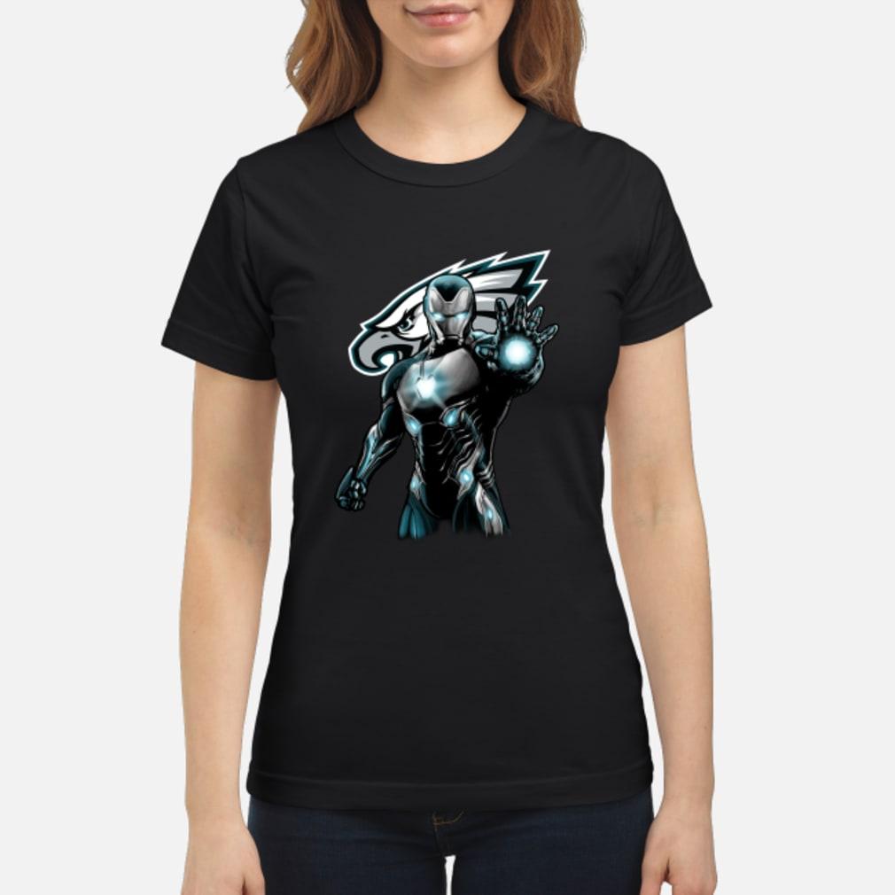 Philadelphia Eagles Iron Man shirt ladies tee