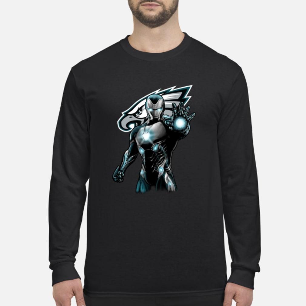 Philadelphia Eagles Iron Man shirt Long sleeved