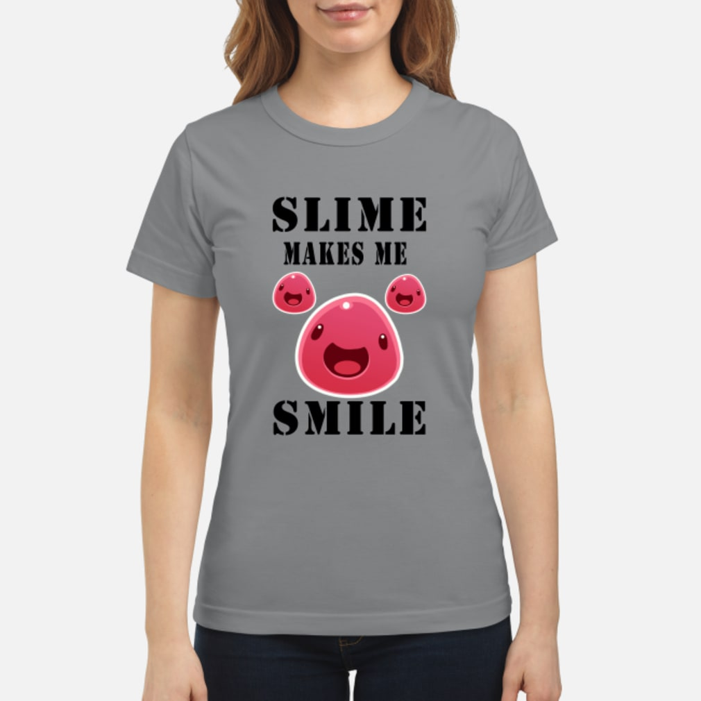 Pig Slime makes me Smile shirt ladies tee