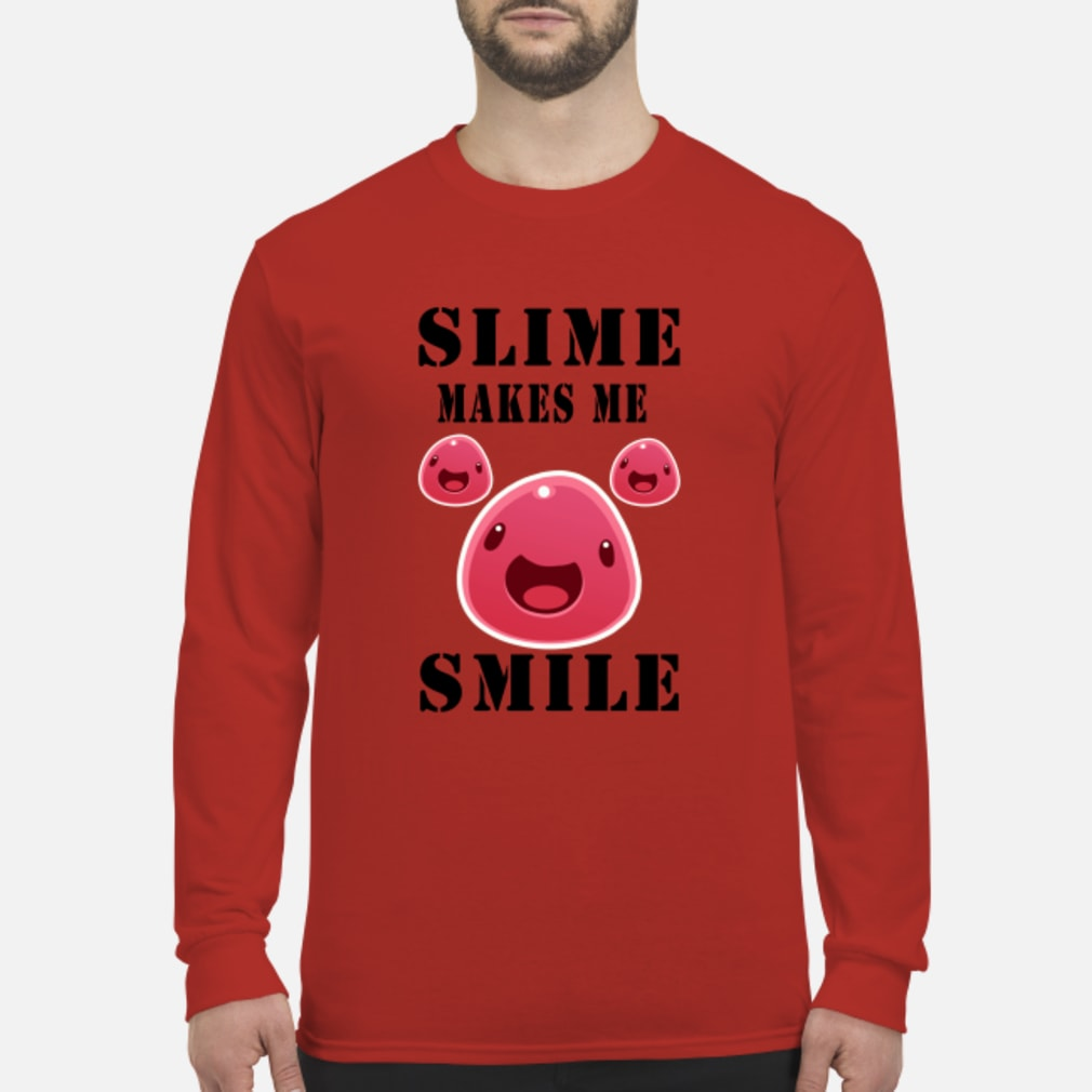 Pig Slime makes me Smile shirt Long sleeved