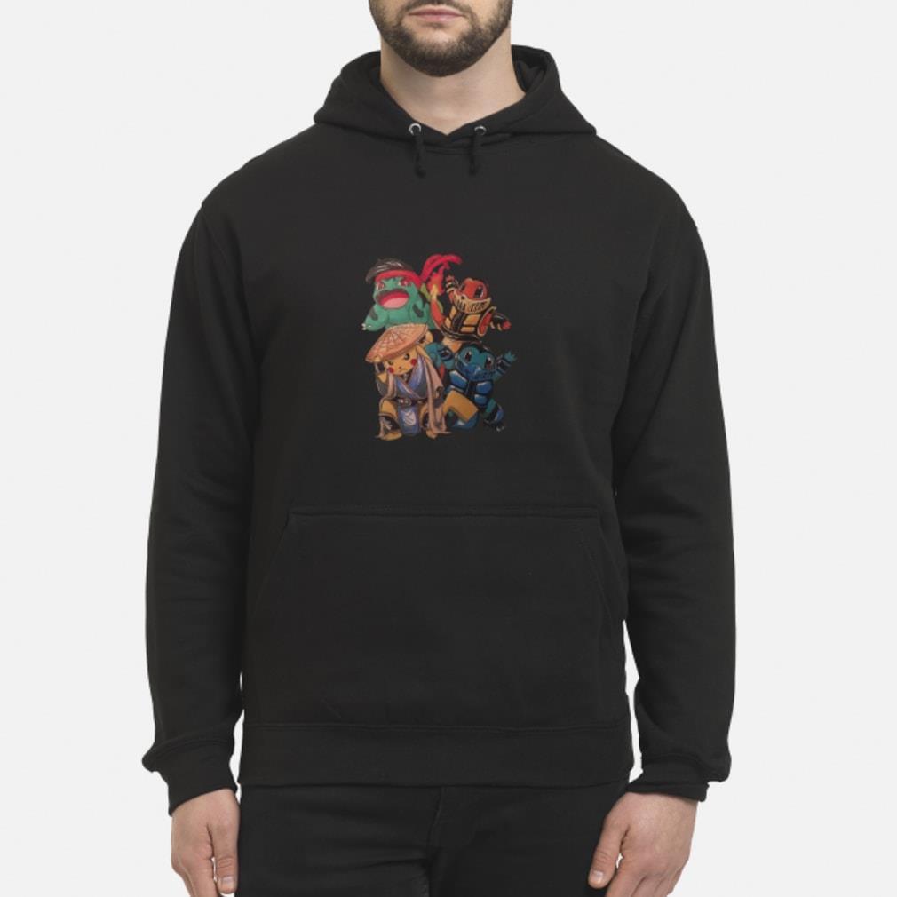 Pokemon Mortal Kombat Shirt hoodie