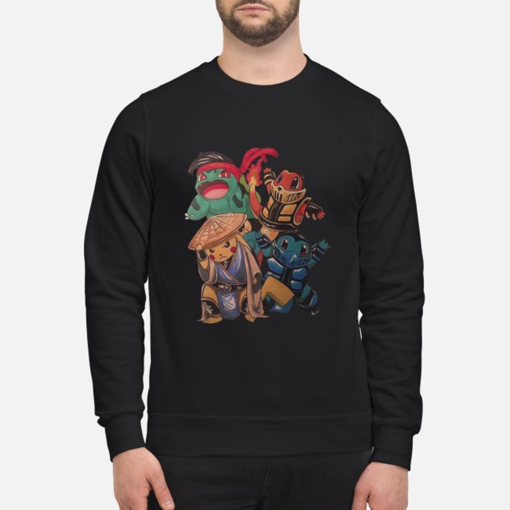 Pokemon Mortal Kombat Shirt sweater