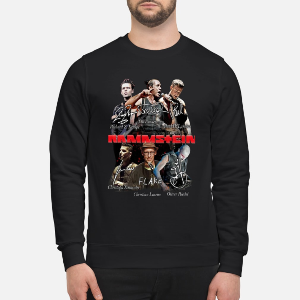 Rammstein flake shirt sweater