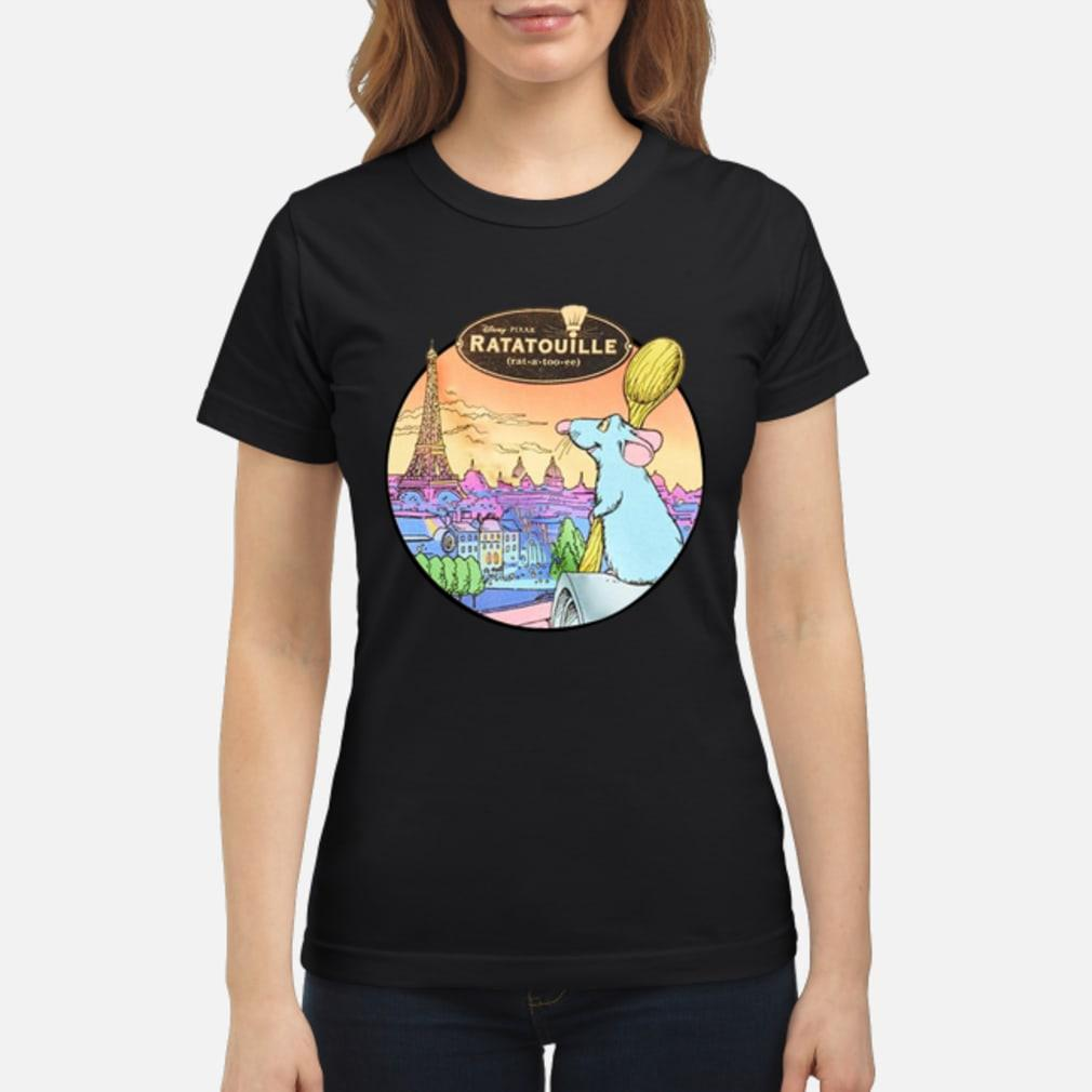 Ratatouille shirt ladies tee