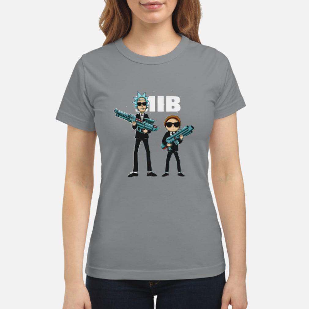 Rick and Morty MIB Movie shirt ladies tee