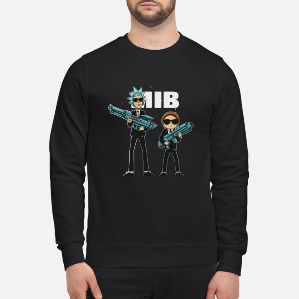 Rick and Morty MIB Movie shirt sweater