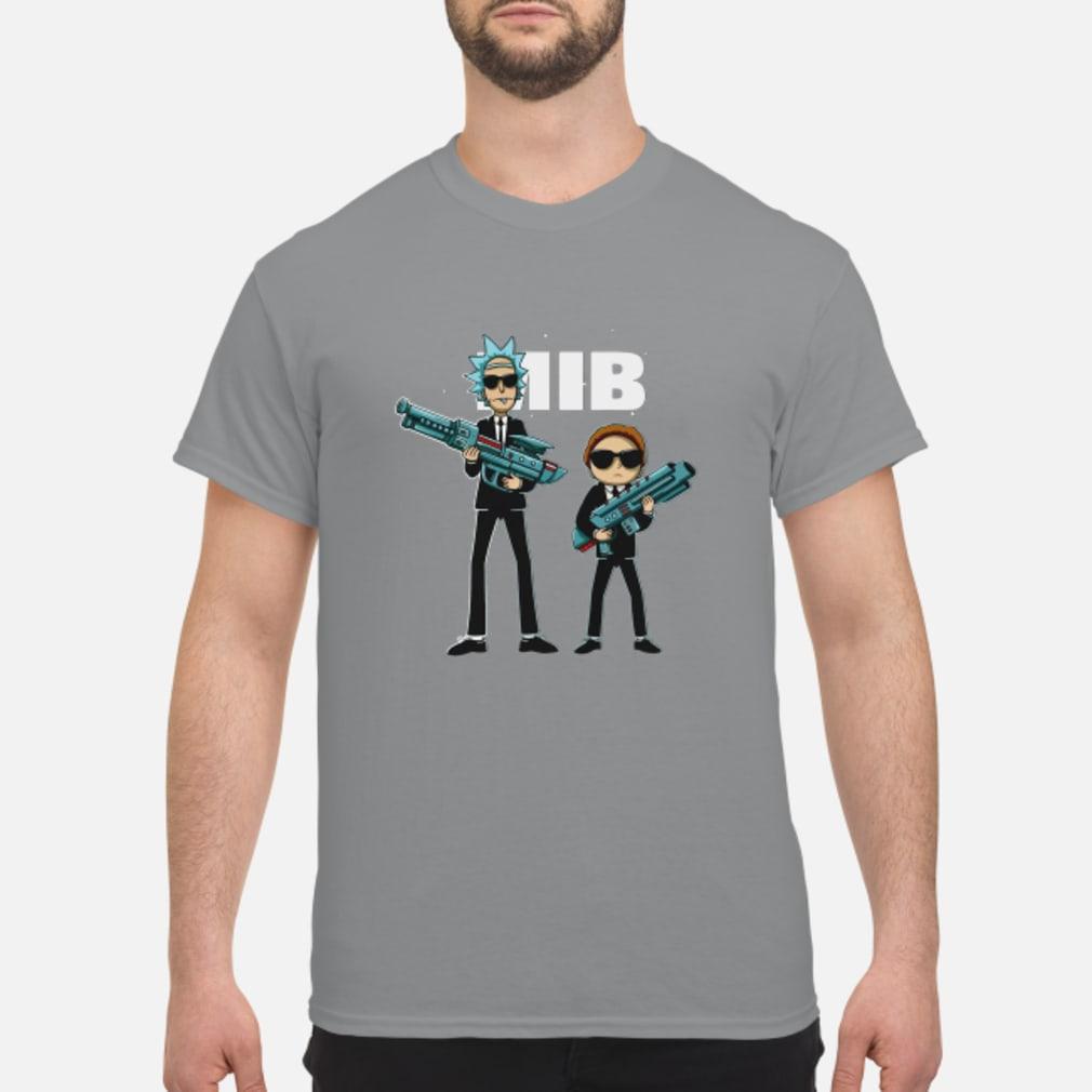 Rick and Morty MIB Movie shirt