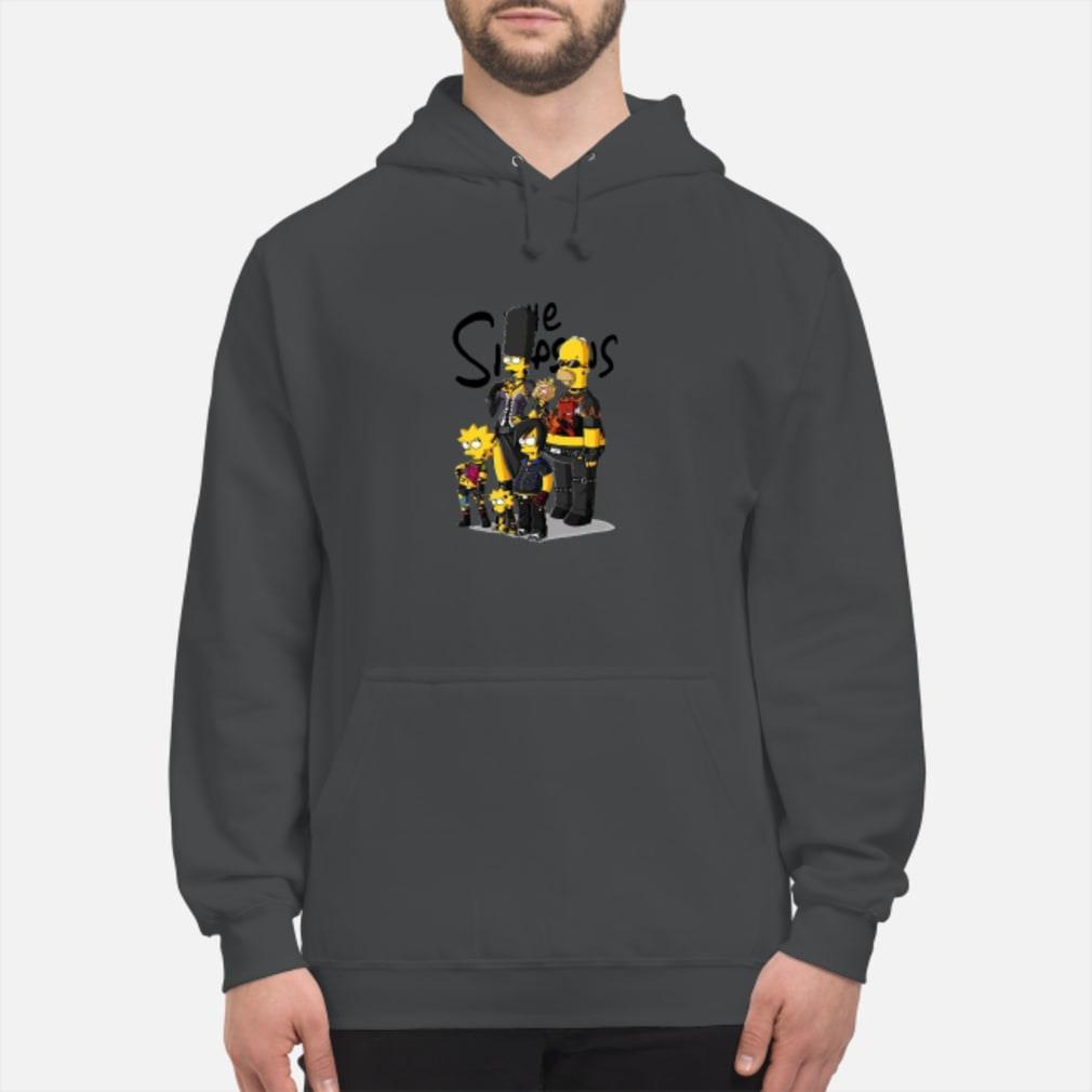 Rock N Roll version Simpson family shirt hoodie