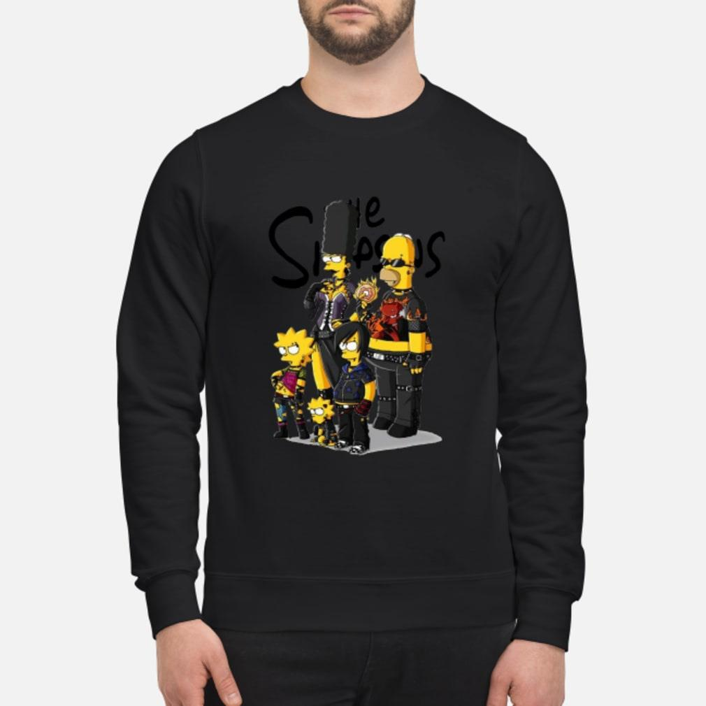 Rock N Roll version Simpson family shirt sweater