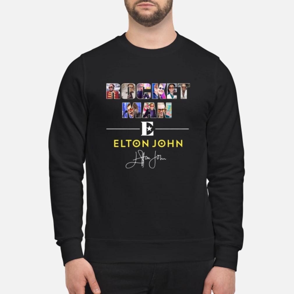 Rocket man Elton John signature shirt sweater