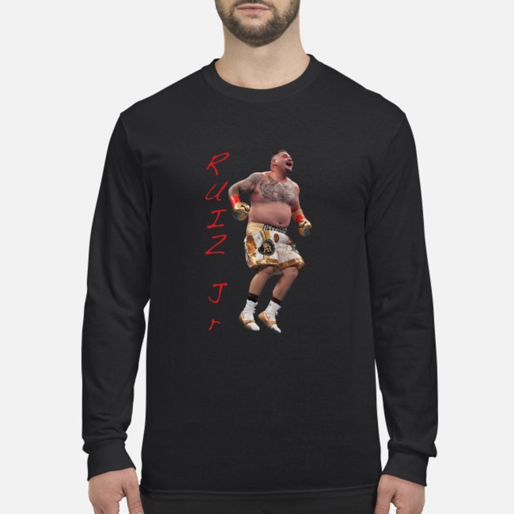 Ruiz Jr. Destroyer Celebration shirt Long sleeved