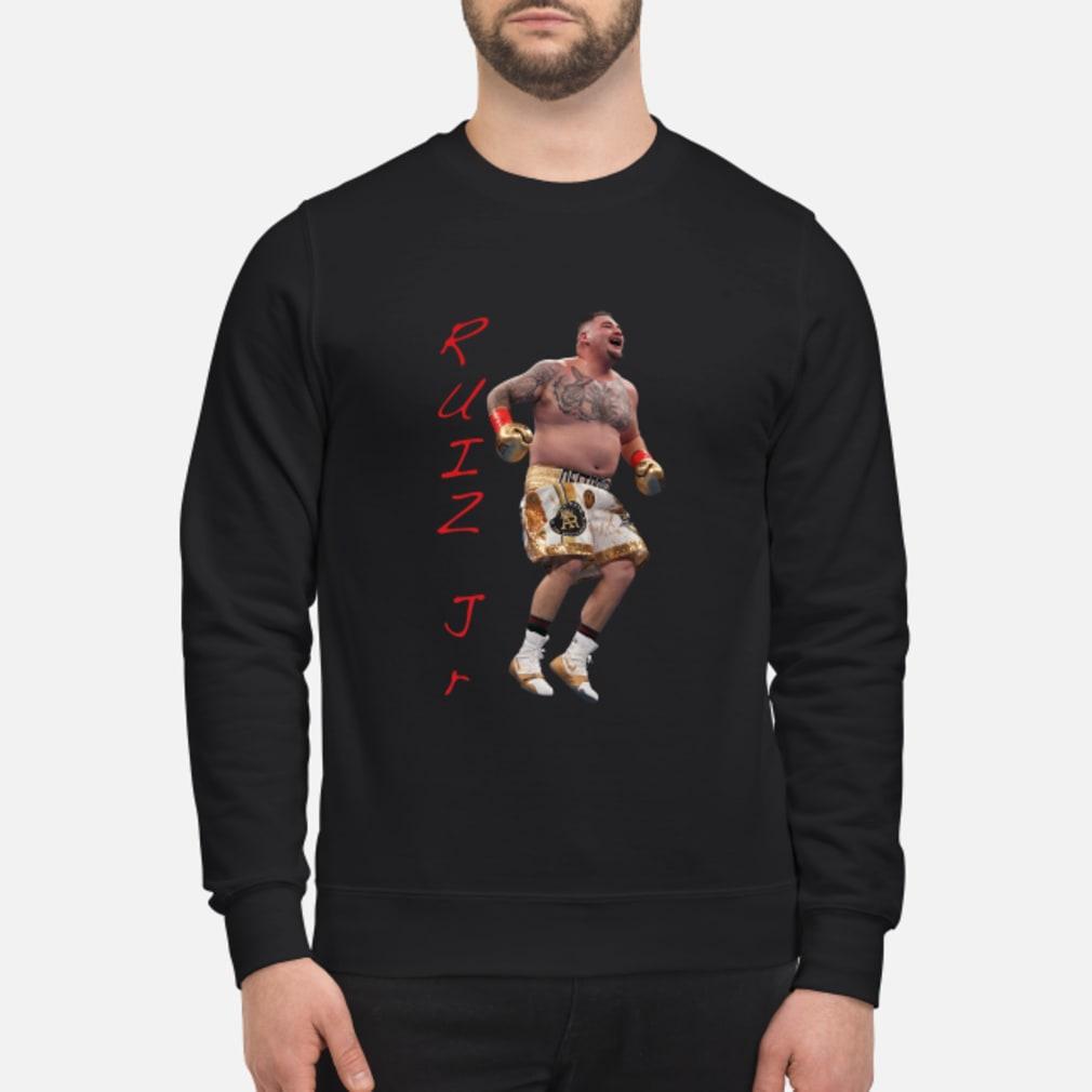 Ruiz Jr. Destroyer Celebration shirt sweater