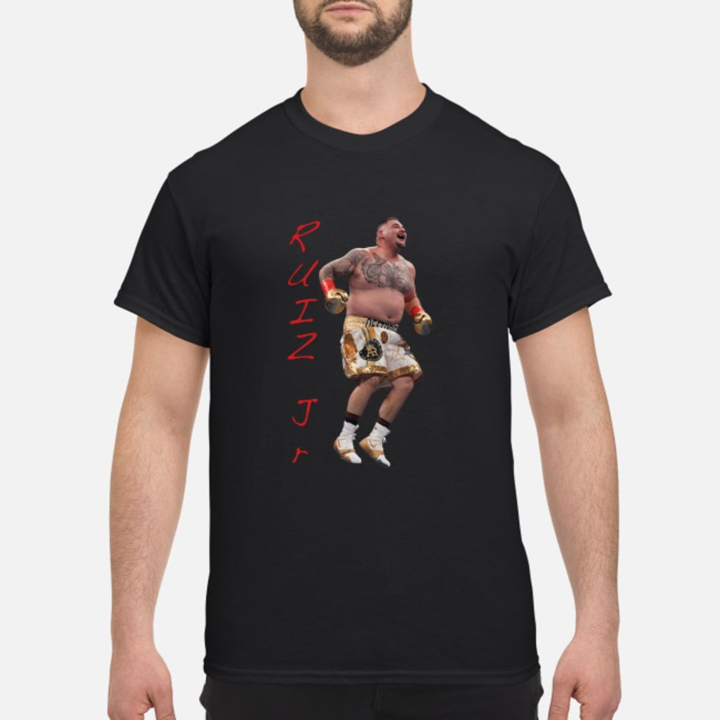 Ruiz Jr. Destroyer Celebration shirt