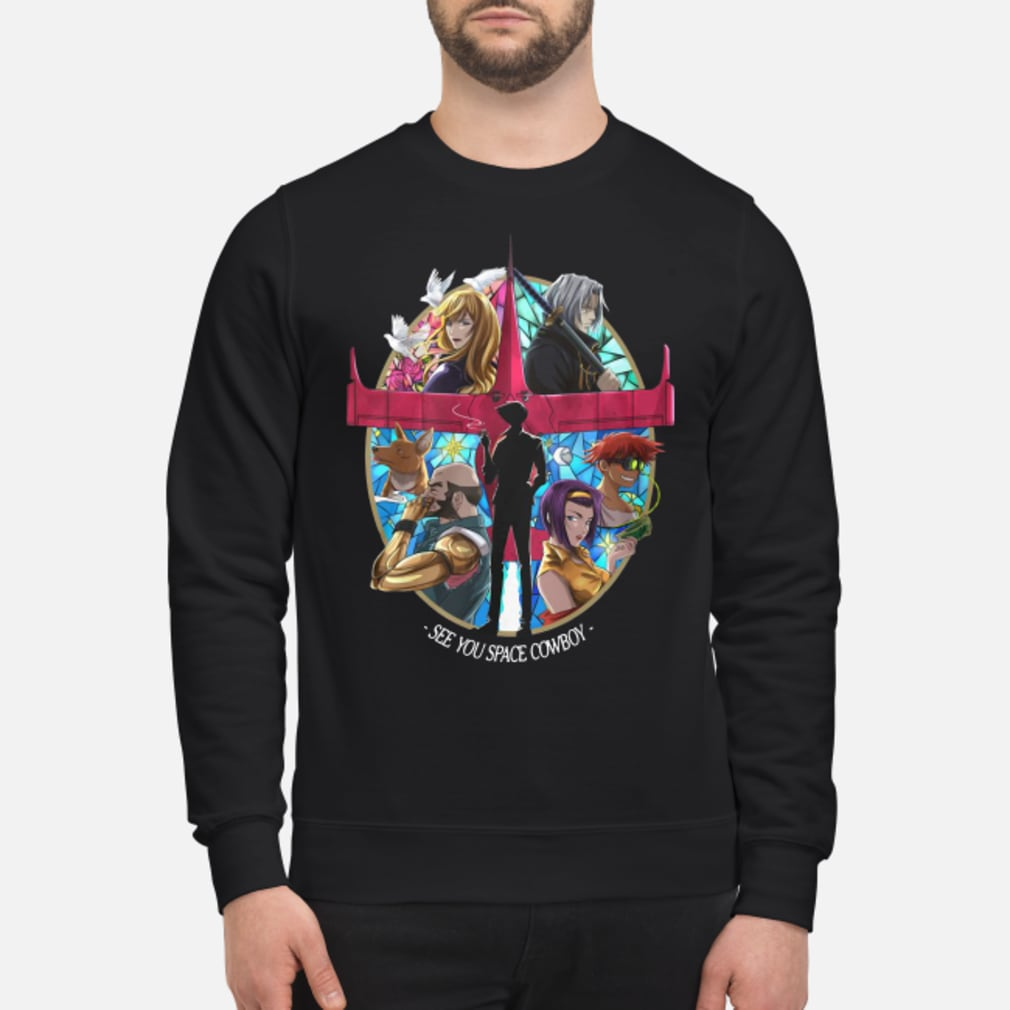 See you space cowboy shirt sweater