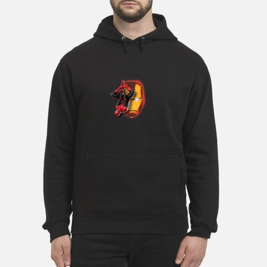 Spider man Iron man shirt hoodie
