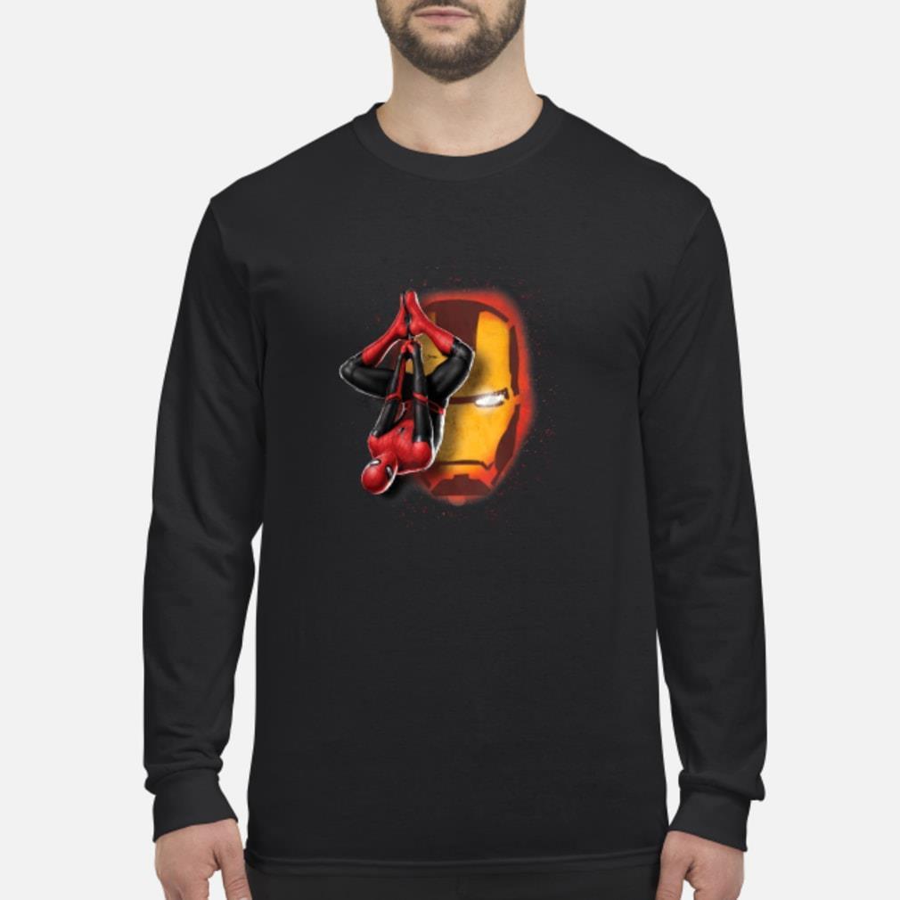 Spider man Iron man shirt Long sleeved