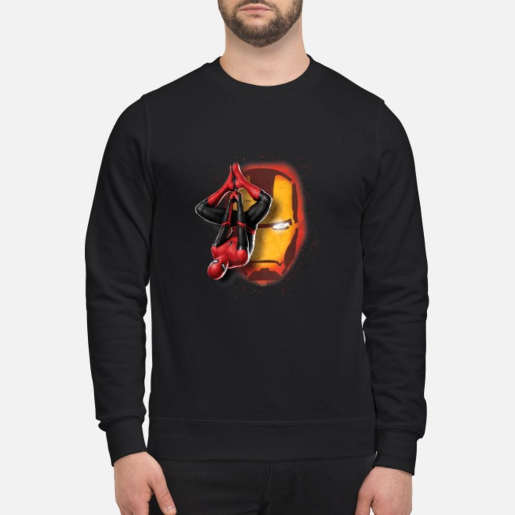 Spider man Iron man shirt sweater