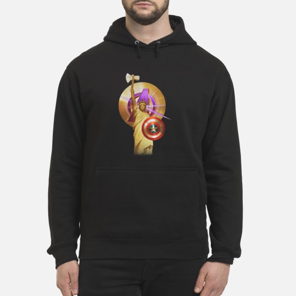 Statue Of Liberty Captain America shirt hoodie
