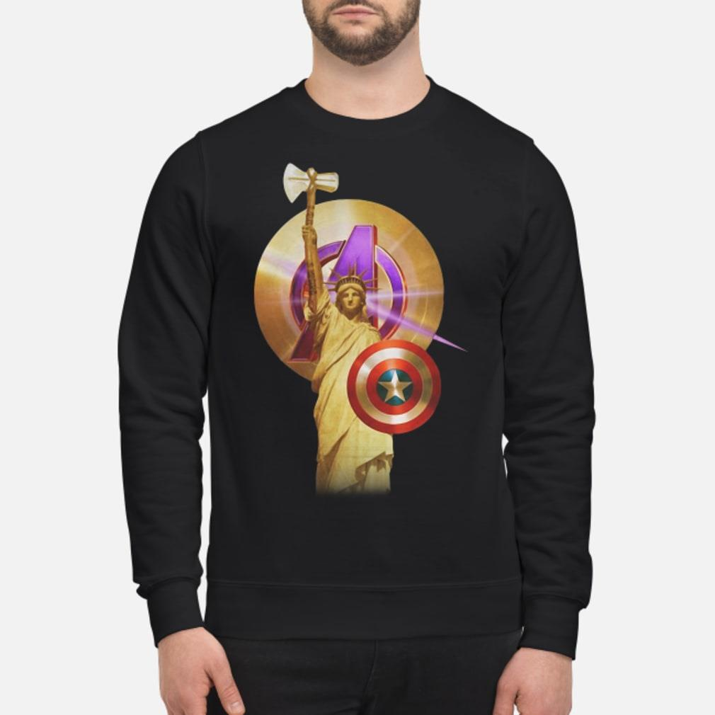 Statue Of Liberty Captain America shirt sweater