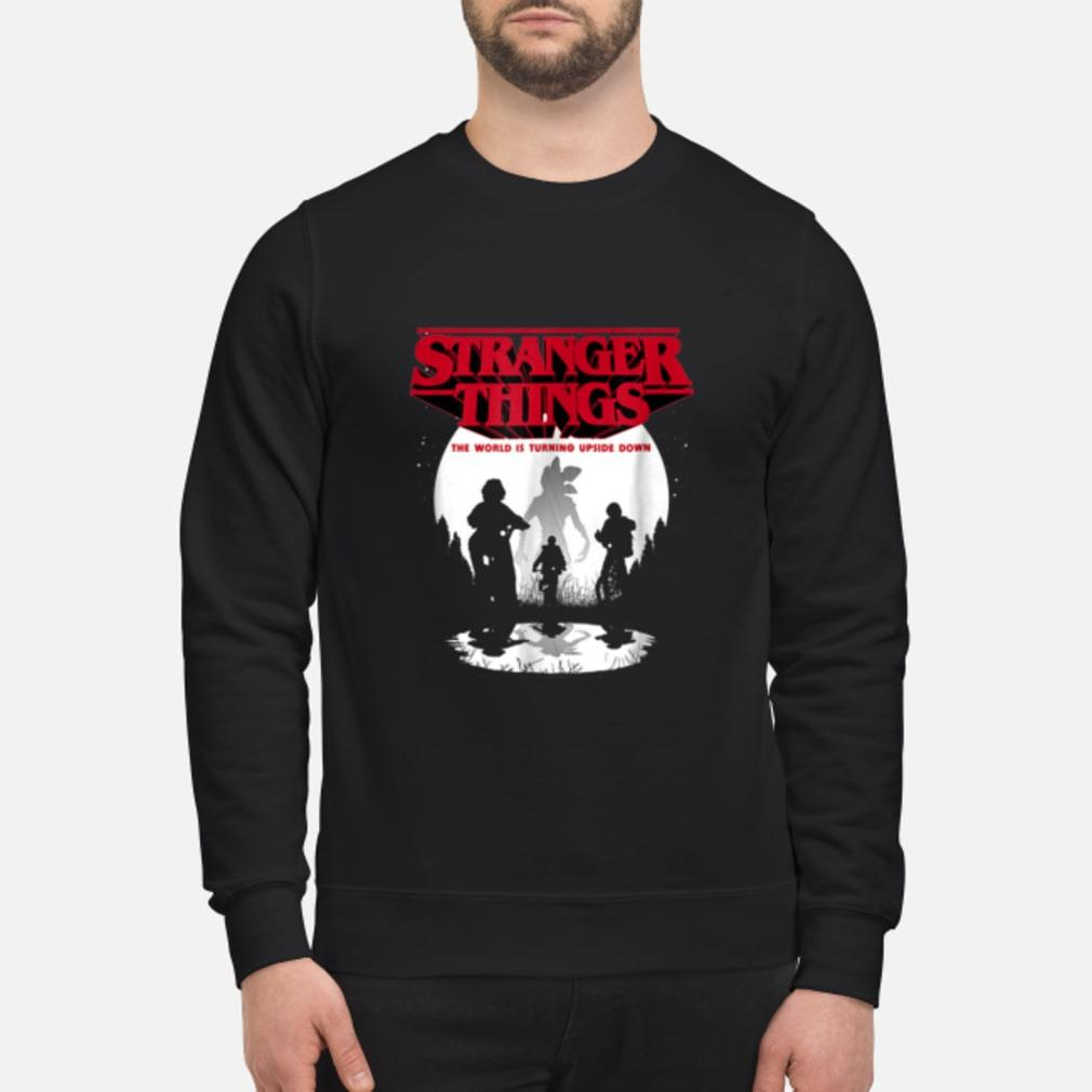 Stranger Things The World Is Turning Upside Down shirt sweater