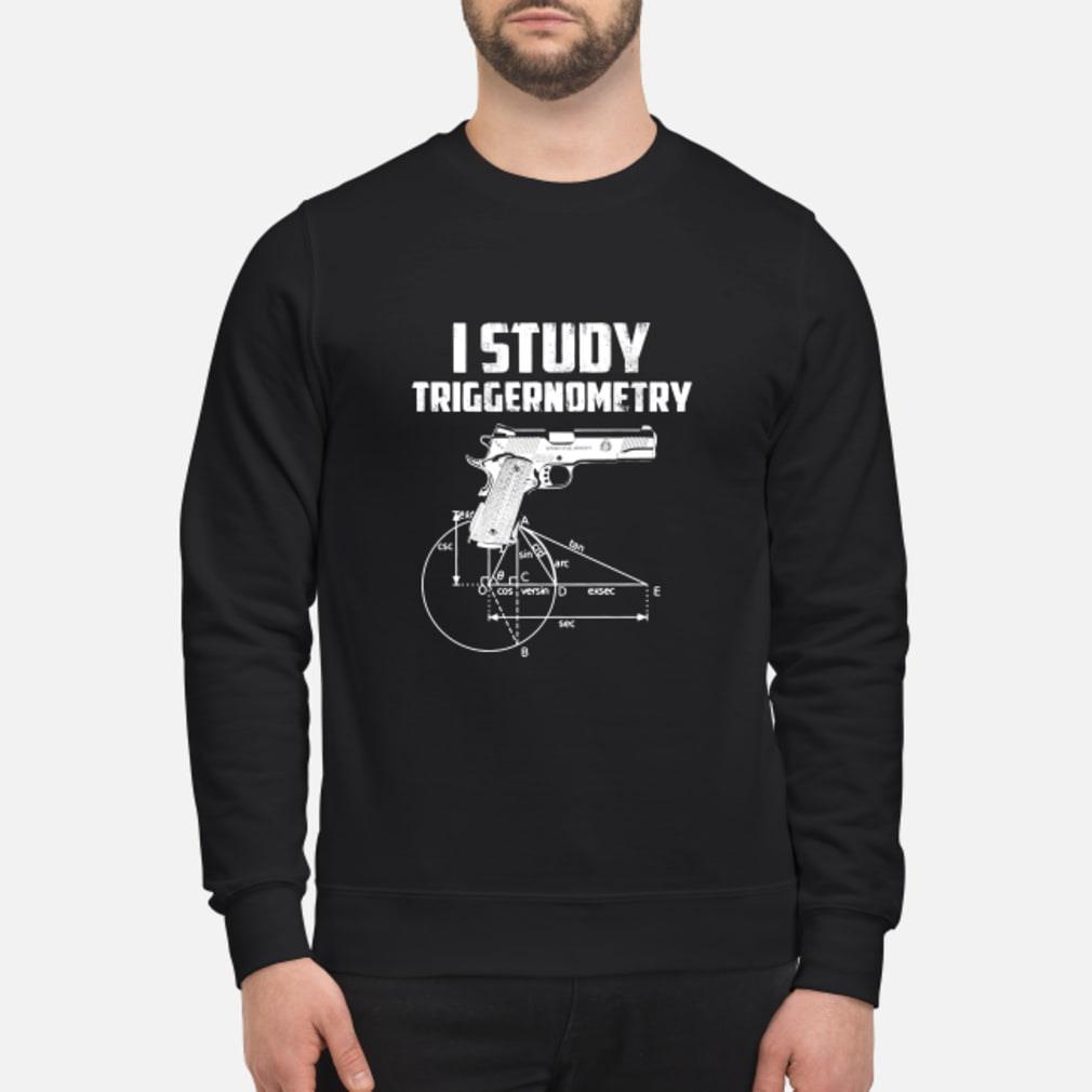 Study triggernometry shirt sweater