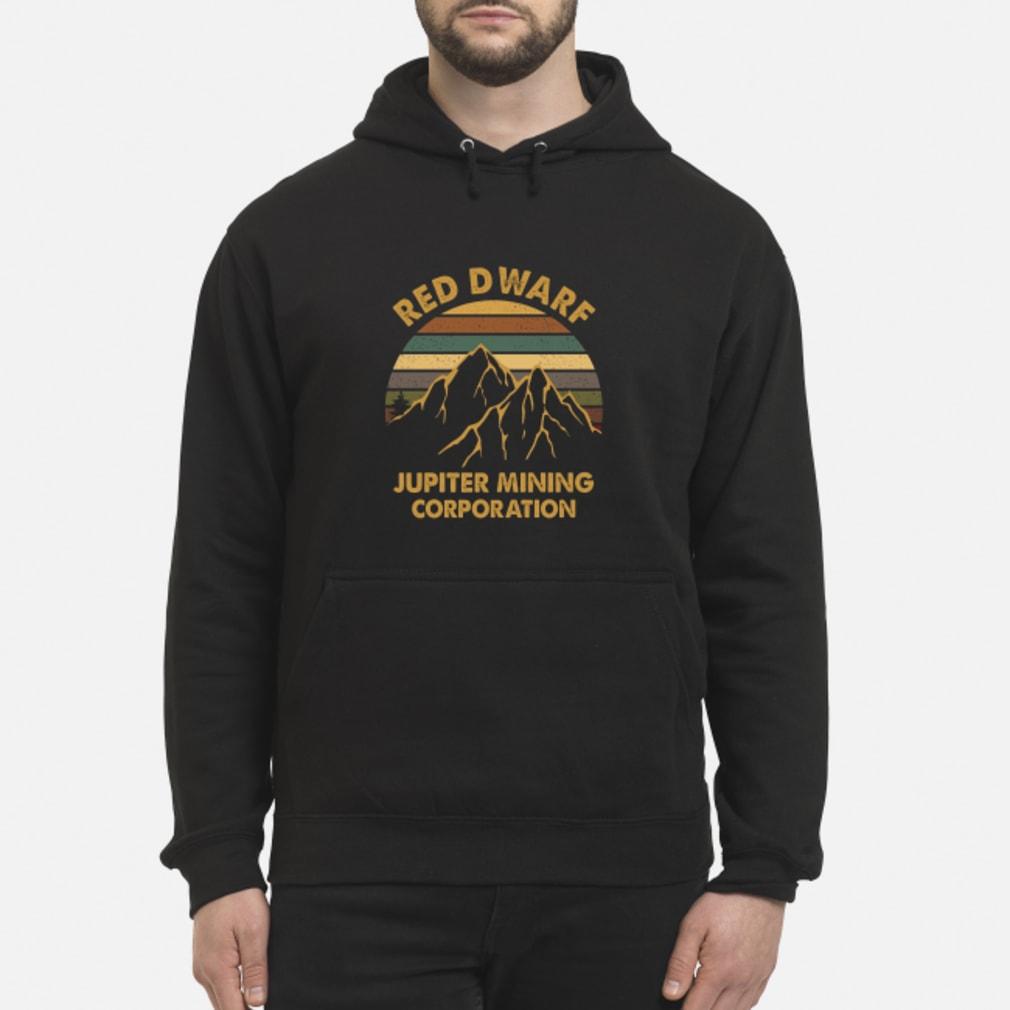 Sunset Red Dwarf Jupiter Mining Corporation Shirt hoodie