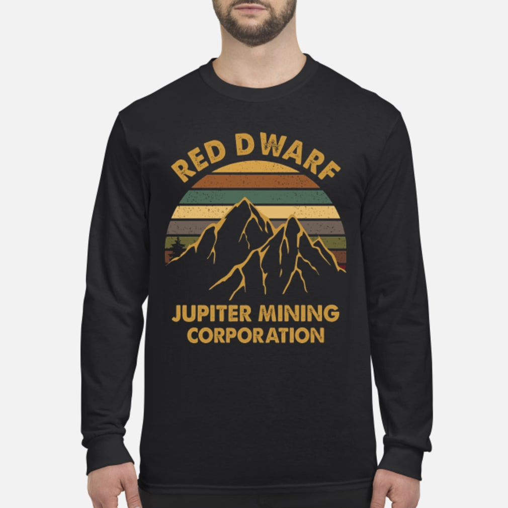 Sunset Red Dwarf Jupiter Mining Corporation Shirt Long sleeved