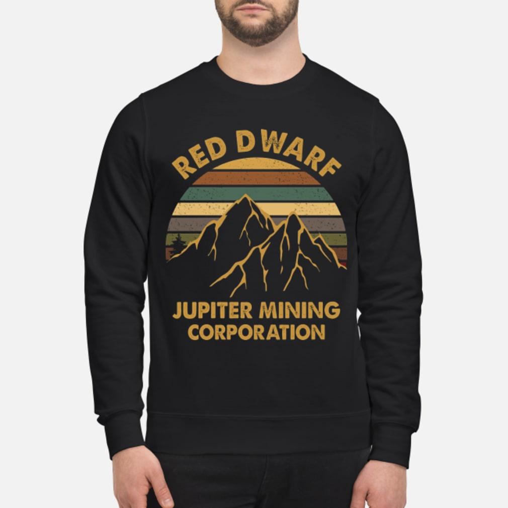 Sunset Red Dwarf Jupiter Mining Corporation Shirt sweater