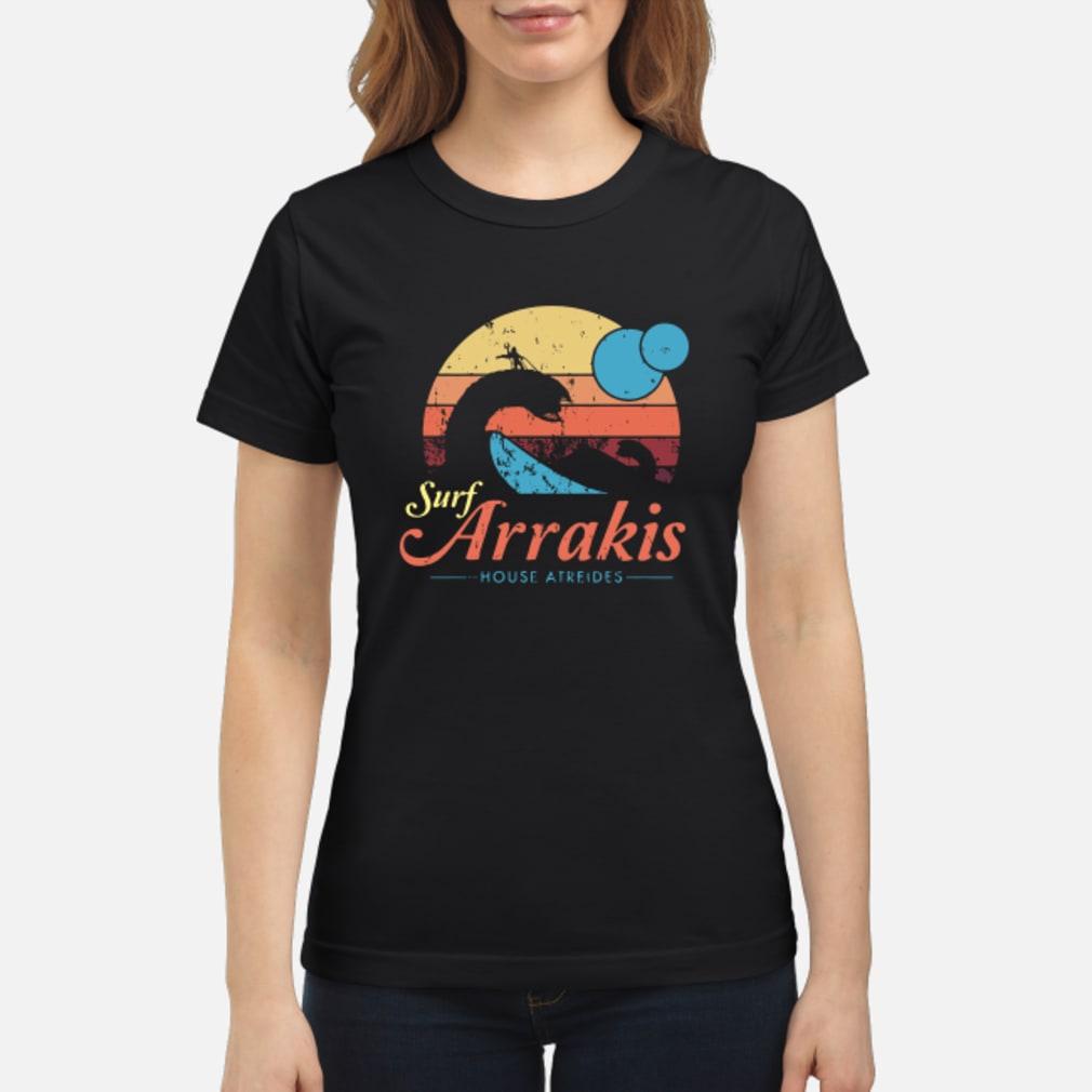 Surf Arrakis House Atreides shirt ladies tee