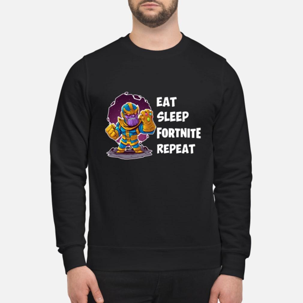 Thanos Eat Sleep Fortnite Repeat Shirt sweater