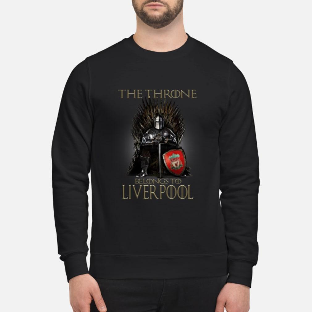 The Throne belongs to liverpool shirt sweater